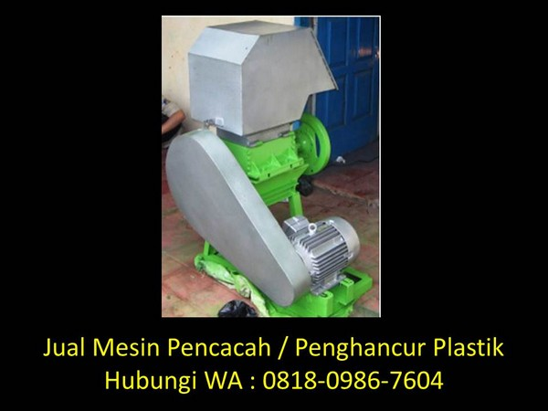 jurnal daur ulang sampah plastik pdf di bandung