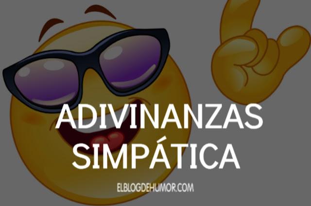 ADIVINANZAS SIMPÁTICA