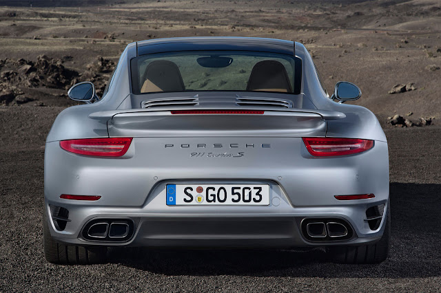 Porsche 911 Turbo rear