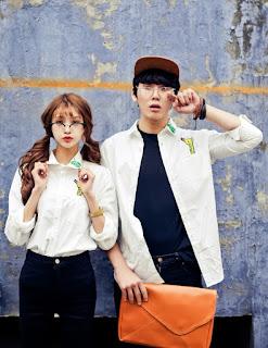 Kemeja Couple Korea Model Terbaru Mei 2016 Tangan Panjang