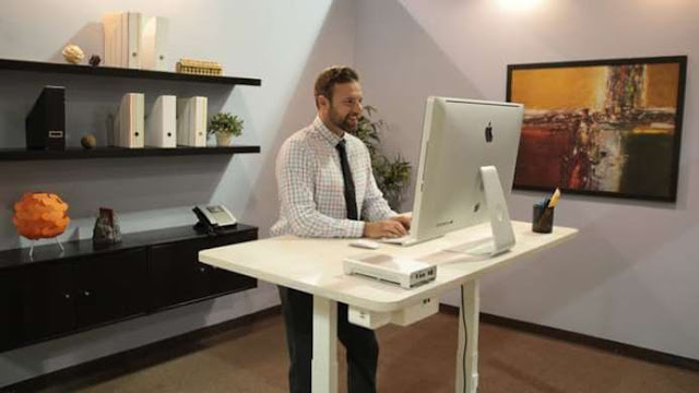 how long to get used to standing desk