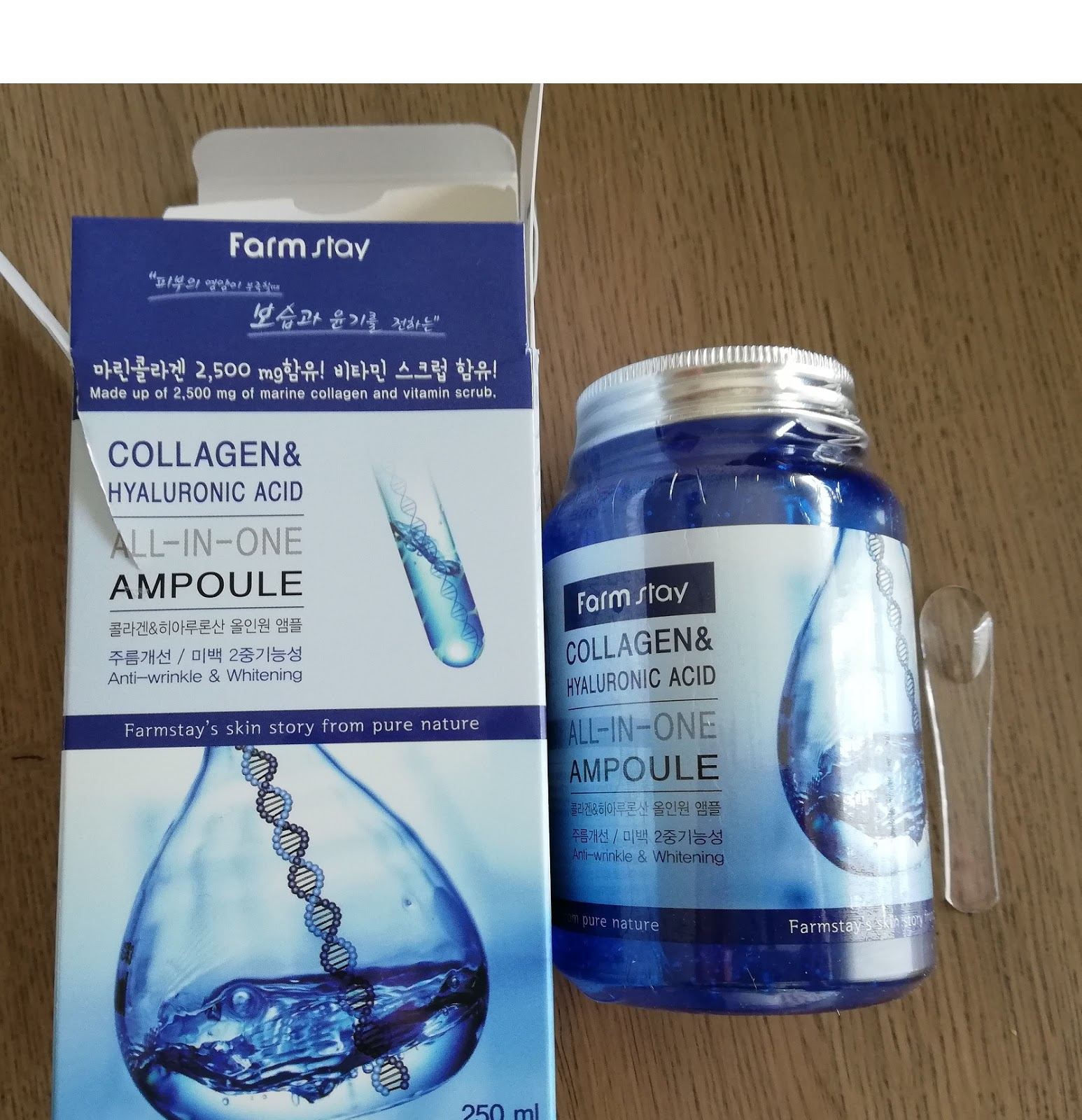 Collagen & Hyaluronic Acid All In One Ampoule - 250ml