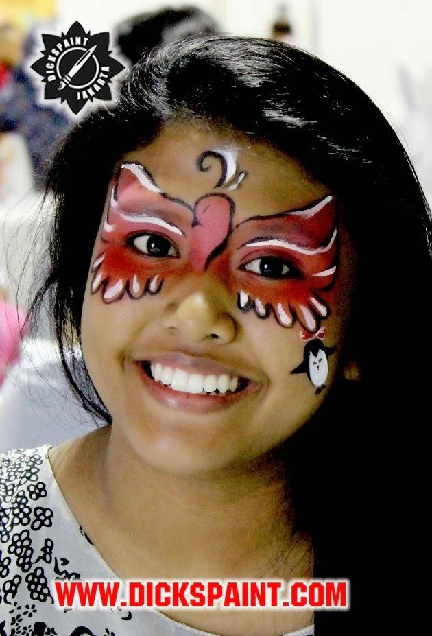 face painting jakarta telkomsel