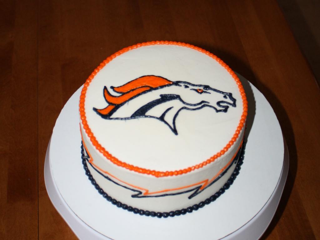 Party Cakes Denver Broncos Birthday Cake