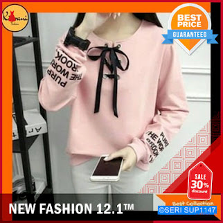 SUP1147B25 Best Baju Atasan Blus Wanita Muslim BMGShop