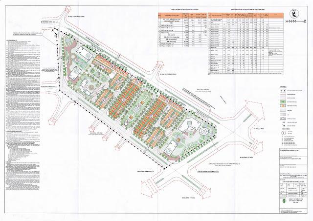 Mặt bằng quy hoạch toàn khu dự án FLC Premier Park