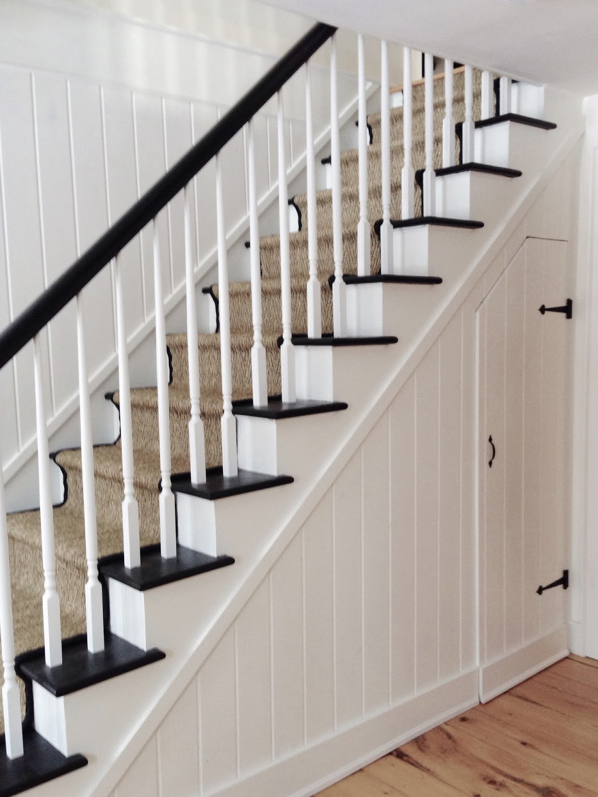 Creed My House Staircase Before After | Knotty Pine Stair Railing | Tongue Groove | Antique Wooden Stair | Log | White | Newel Post