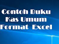 Contoh Buku Kas Umum Format  Excel