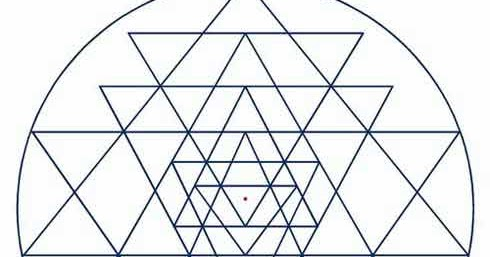 Symbolism Of Overlapping Triangles In Hinduism