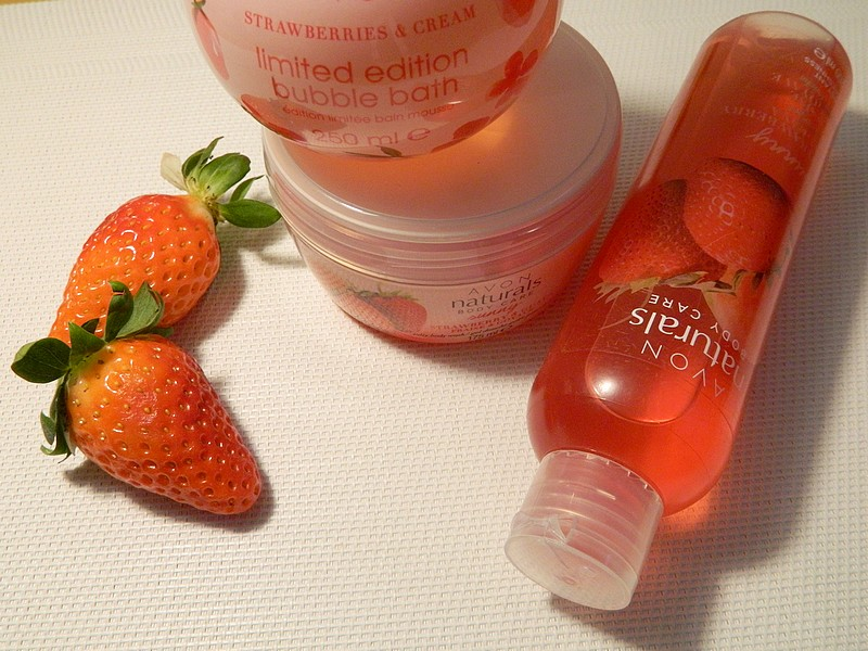 cosmetics strawberry