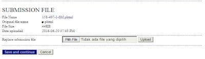 tanda upload file  sukses