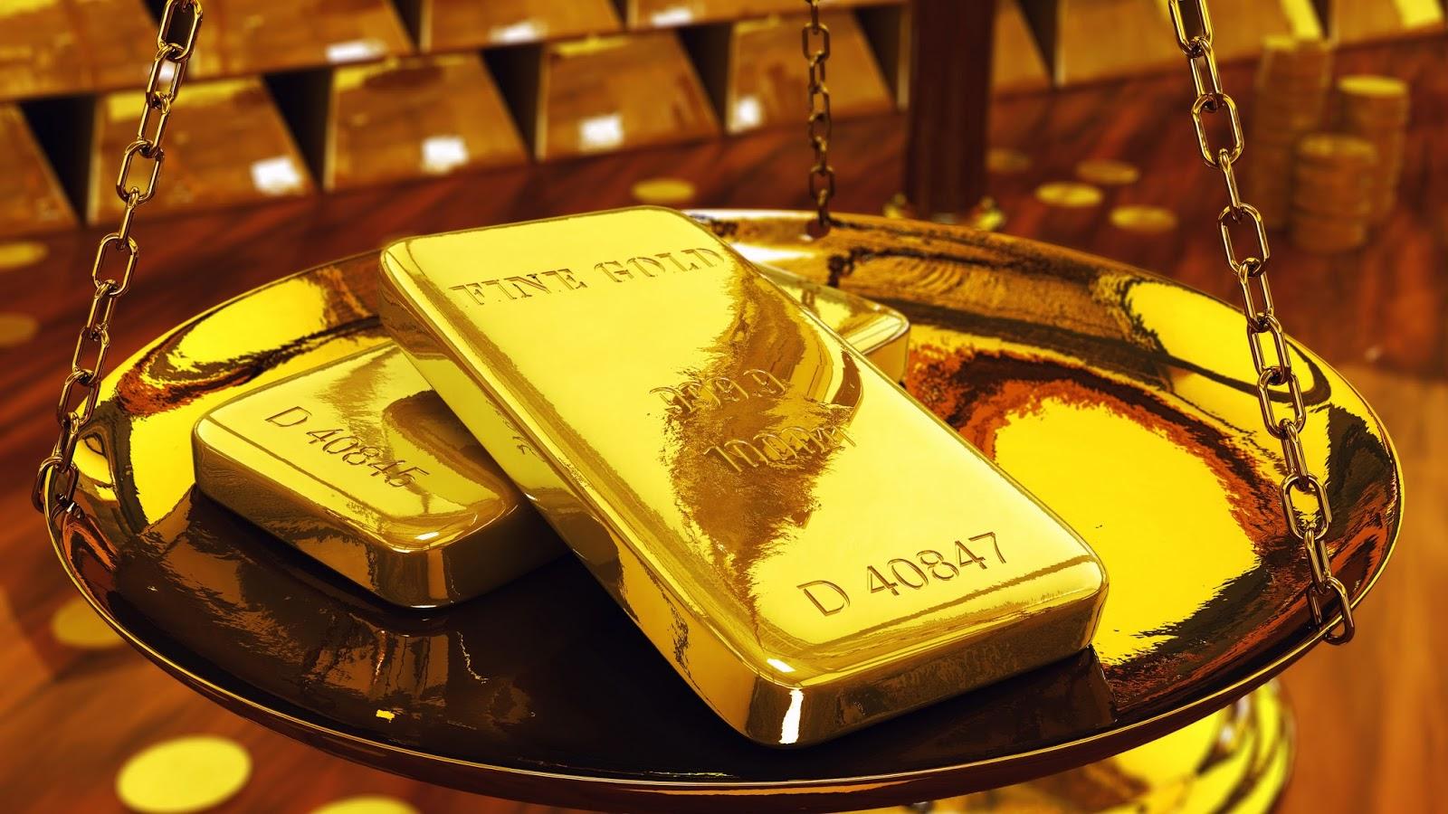 Вложить деньги в золото золотые слитки