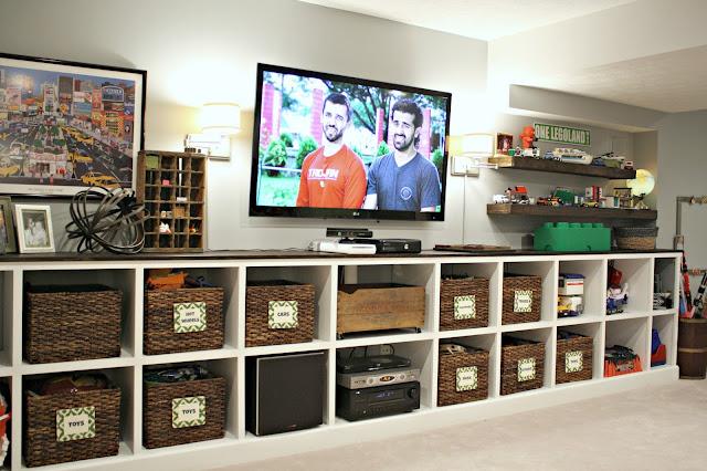 storage cubby built ins