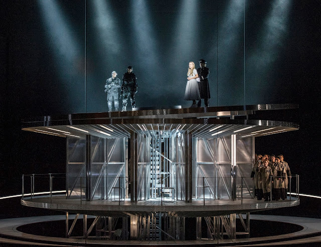 Elysium - Den Norske Opera.  Directed by David Pountney. Set and costume design by Leslie Travers - photo Erik Berg