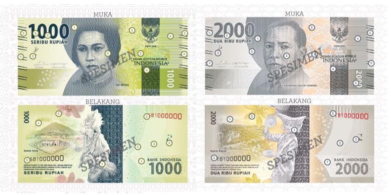 Desain Uang Rupiah Terbaru Indonesia yang Ciamik