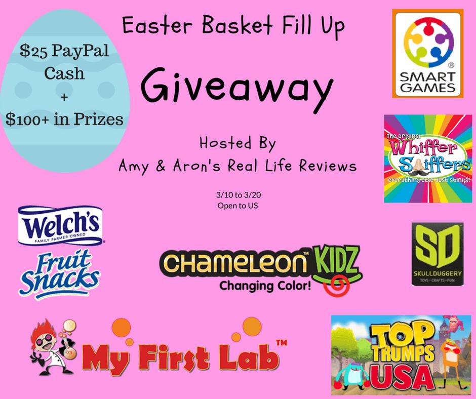 Easter Basket Fill-Up Giveaway
