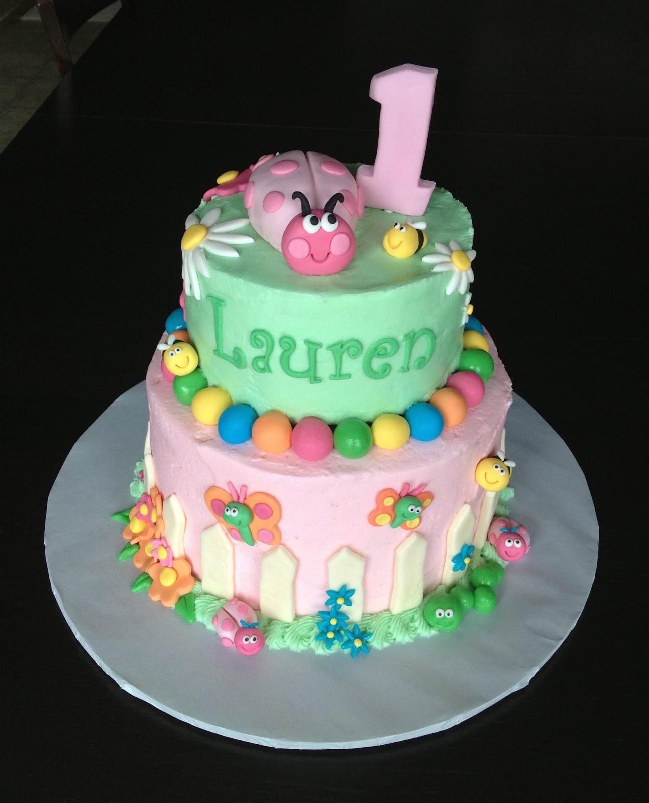 Birthday Bug Cake Bbc