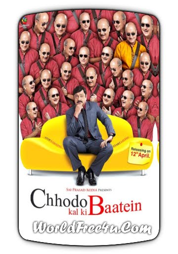 Poster Of Bollywood Movie Chhodo Kal Ki Baatein (2012) 300MB Compressed Small Size Pc Movie Free Download worldfree4u.com