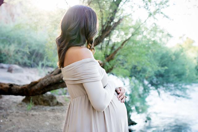 desert maternity shoot arizona maternity shoot amazon maternity dress Salt River Maternity shoot