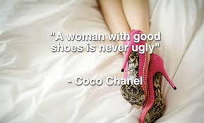 coco chanel about shoes