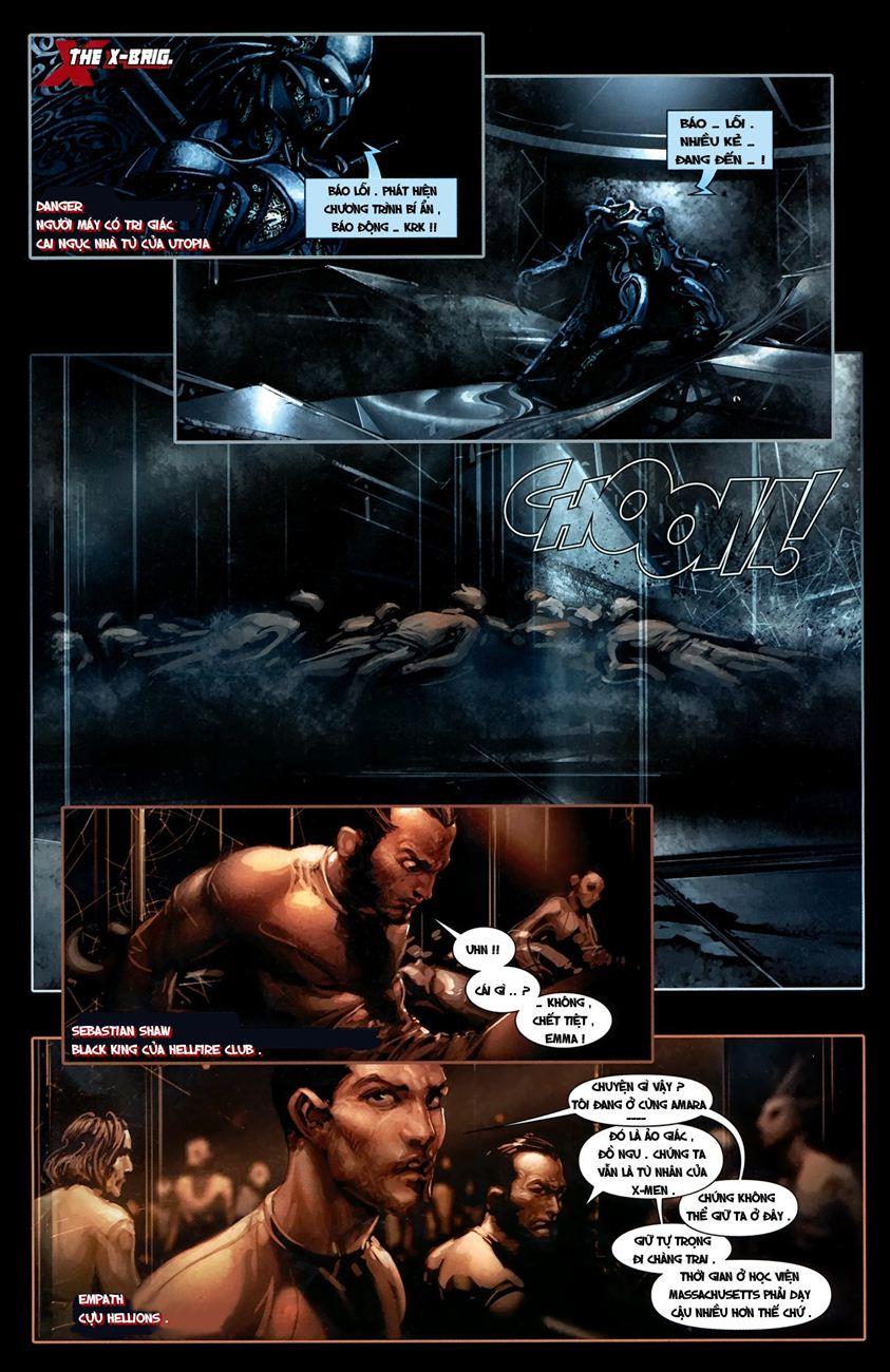 X-Men Necrosha chap 1 trang 8