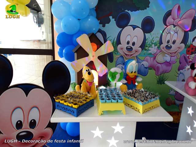 Decoração aniversário Baby Disney - Festa infantil