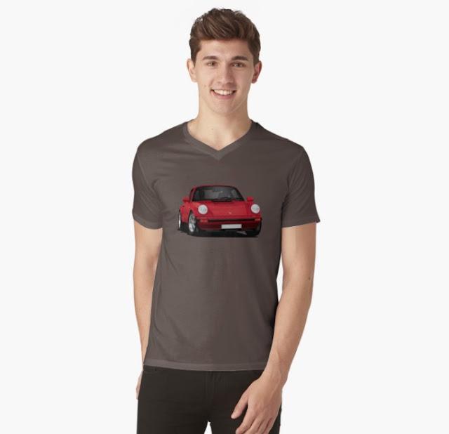 Porsche 911 classic t-shirts