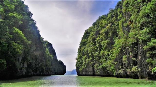 El Nido, Filipinas. Entrada a Big Lagoon.