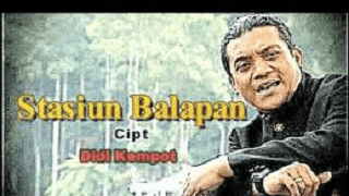Lirik Lagu Stasiun Balapan - Didi Kempot