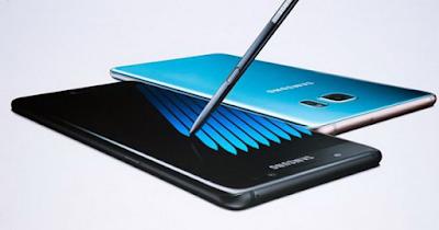 Samsung Galaxy Note 7 bị cấm mang lên máy bay