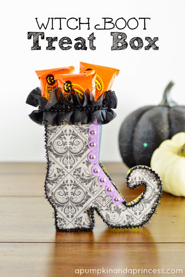 DIY Witch Shoes Treats.