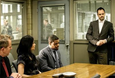Jonny Lee Miller and Lucy Liu as Sherlock Holmes and Joan Watson in CBS Elementary Season 2 Episode 10 Tremors