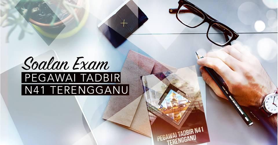 Pakej Rujukan dan Soalan Exam Pegawai Tadbir N41 Terengganu