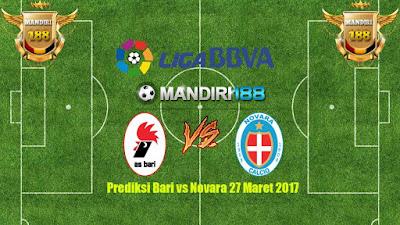 AGEN BOLA - Prediksi Bari vs Novara 27 Maret 2017