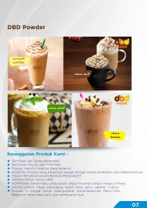supplier bubuk minuman
