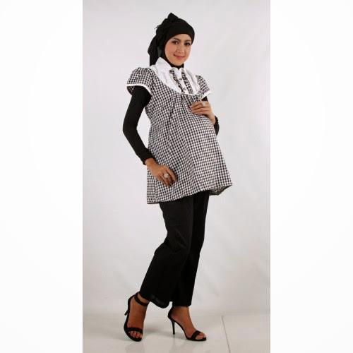 Model Baju Hamil Muslim Terbaru