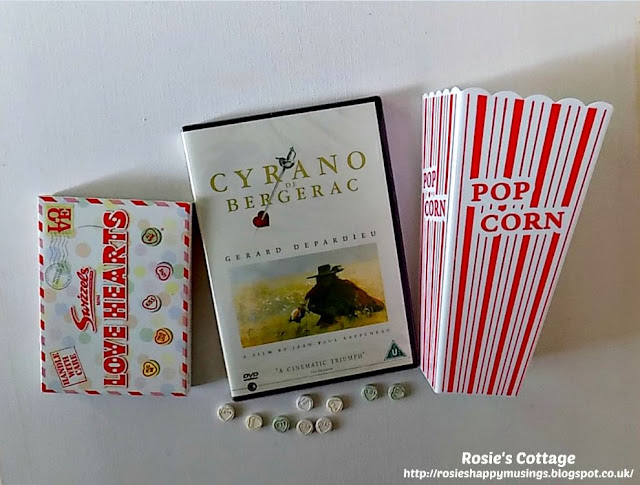 Cyrano De Bergerac DVD - a sweet gift from Hubby x