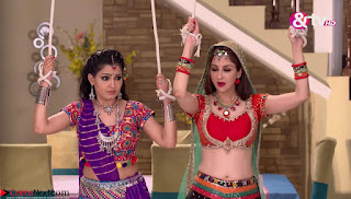 Soumya Tondon aka Bhabhiji in Beautiful Red Ghagra Choli ~ Exclusive Galleries