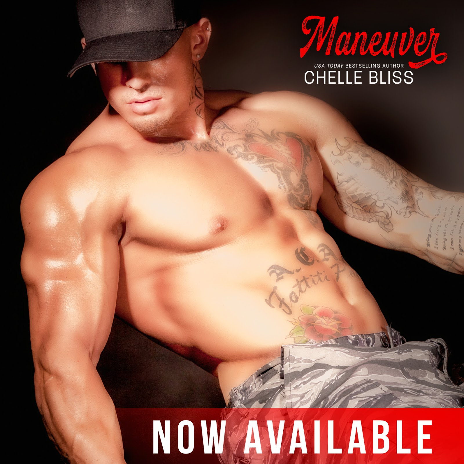 Maneuver Book by Chelle Bliss – jessicacassidy com