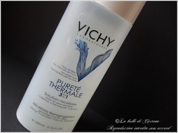 vichy, eau micellaire