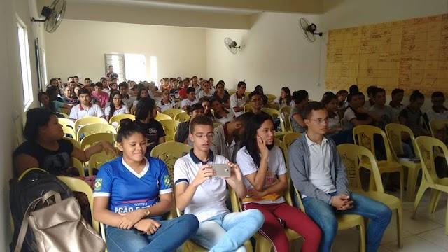 Acontece Seminário Municipal sobre Direitos humanos  que busca trabalhar a prevenção com a Juventude de Senador Sá.