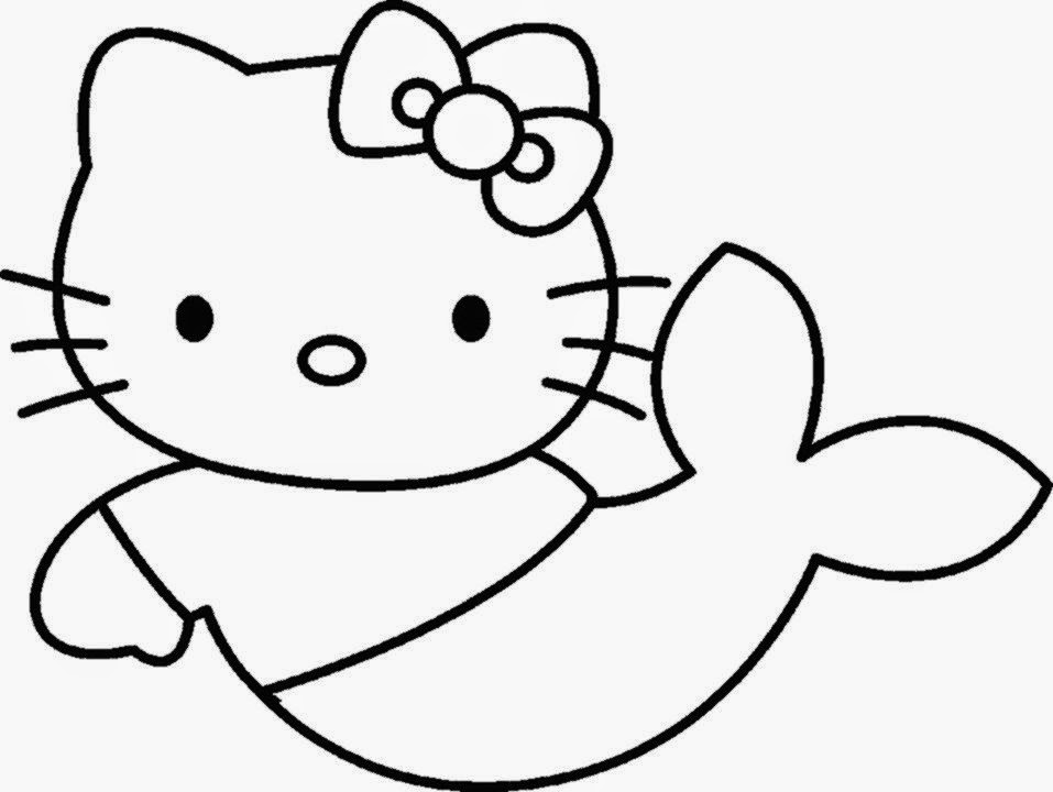 a coloring pages of hello kitty | February 2015 | Free Coloring Sheet