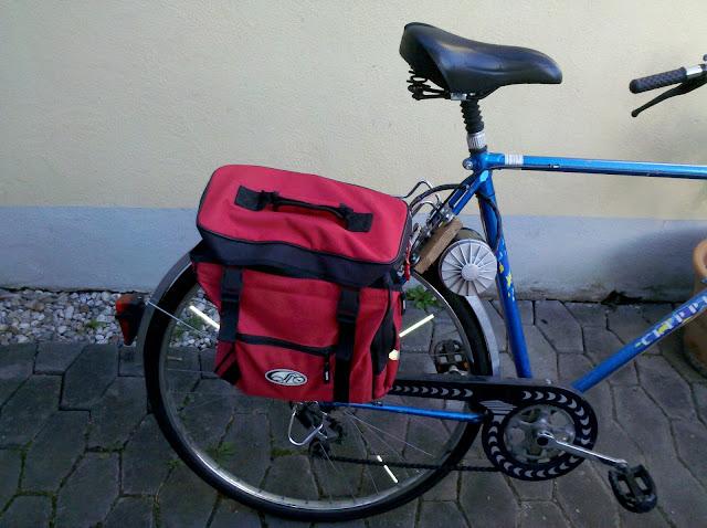 Bicicletta Elettrica Con Il Motore Di Una Lavatrice Hackers Tribe