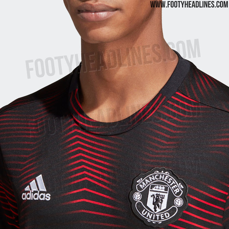 Stunning Manchester United 2019 Pre-Match Shirt Released - Footy ... d6a7b5524