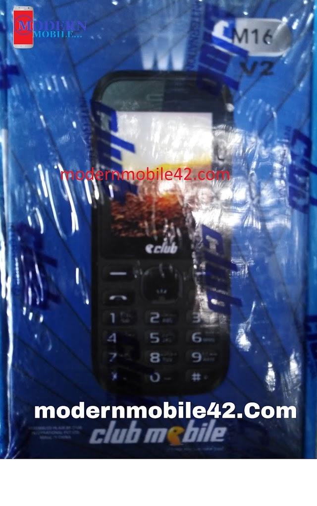 club mobile M16 sc6531e 100% ok flash file
