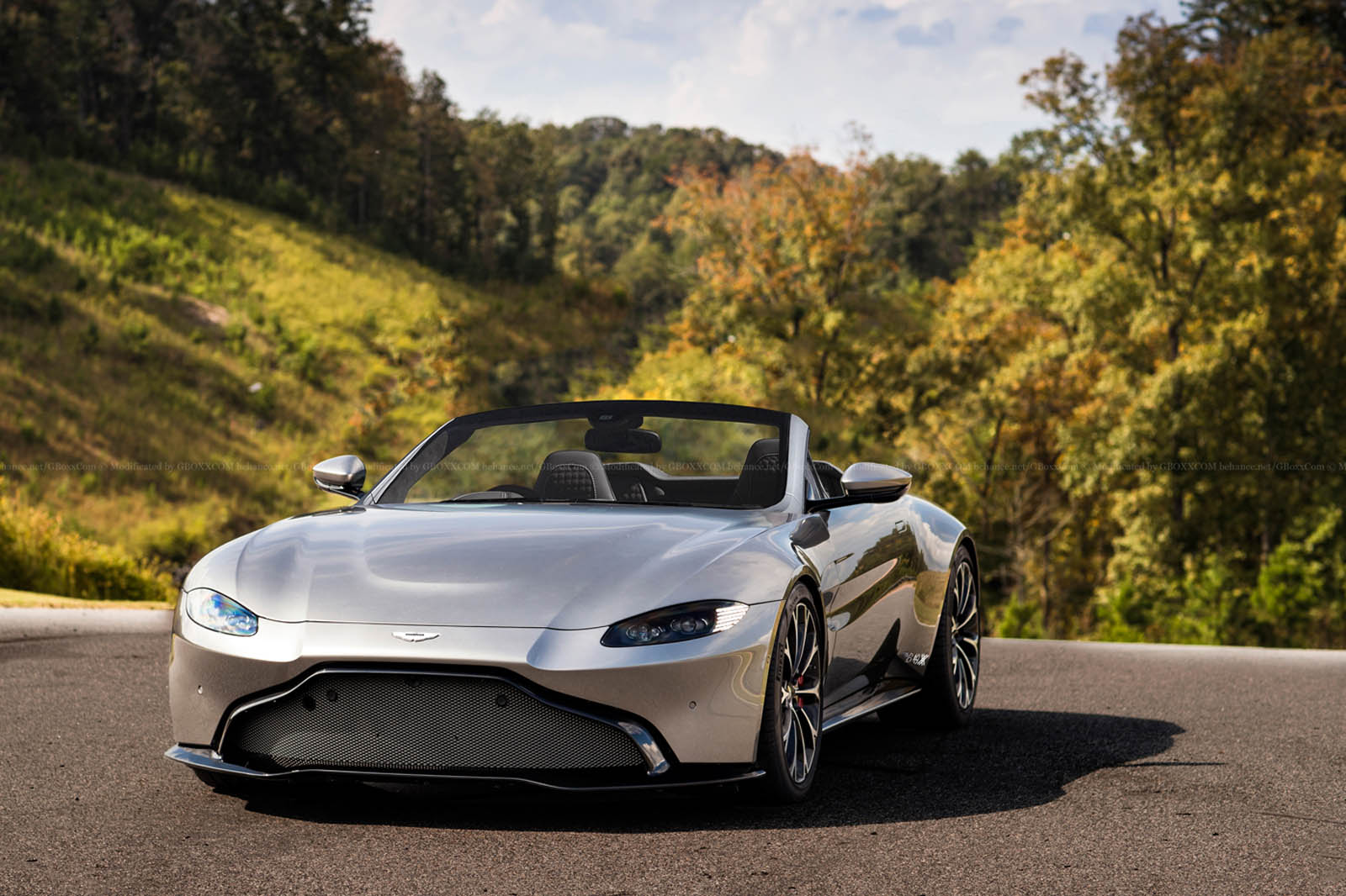 aston martin 39 s new vantage will look hot as a roadster too carscoops. Black Bedroom Furniture Sets. Home Design Ideas