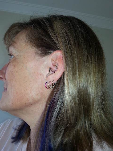 me with my daith piercing a couple of months after it was done