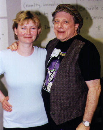 Critics At Large Writer Harlan Ellison He Has A Mouth
