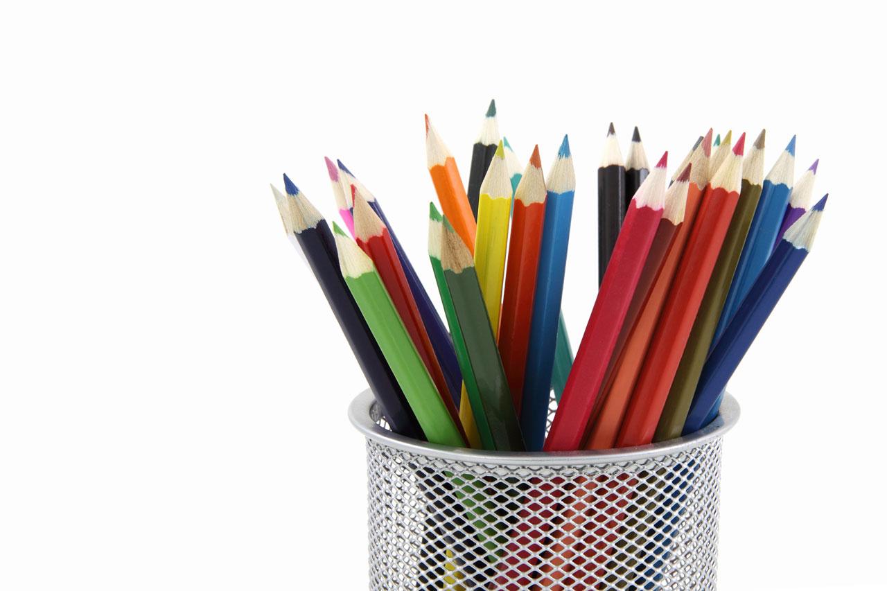 La Manera Mas Fácil Para Descargar Fondos De Pantalla Con: Edudescargas: Fondo De Pantalla Lapices De Colores