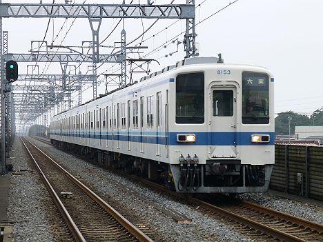 残り7日で消滅してしまう種別なし表示の東武野田線 六実行き8000系幕車・8000系LED車